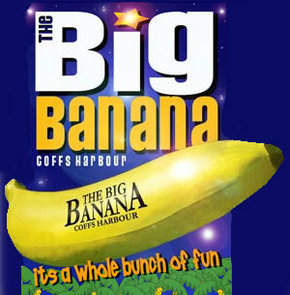 Big Banana - Holiday Byron Bay